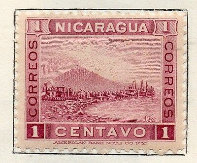Nicaragua 1900 Early Issue Fine Mint Hinged 1c. 128460