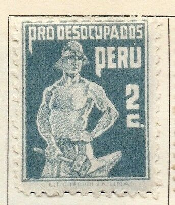 Peru 1932 Early Issue Fine Mint Hinged 2c. 128469
