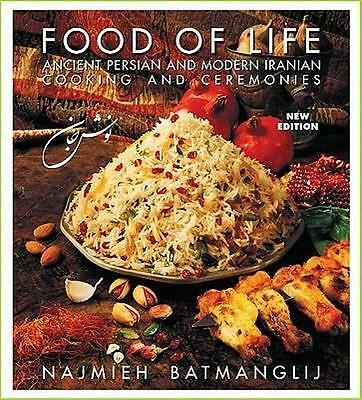 NEW Food of Life By Najmieh Batmanglij Paperback Free Shipping