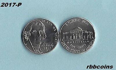 2017-P Uncirculated Jefferson Nickel - I Have All Jefferson Nickels Listed