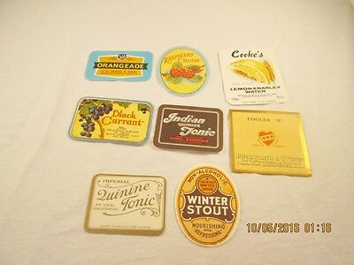 Vintage Unused Soda and Other Drink Labels #26