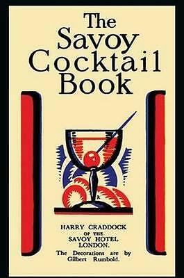 NEW The Savoy Cocktail Book By Harry Craddock Paperback Free Shipping