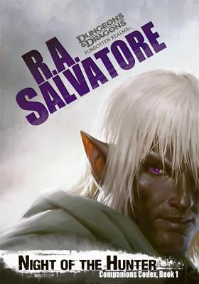 NEW Night of the Hunter By R. A. Salvatore Paperback Free Shipping