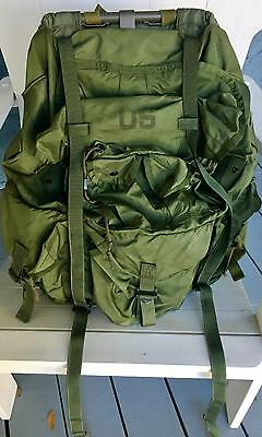U.s. Military Issue Combat Field Pack Large Lc-1 Army Backpack Alice Rucksack