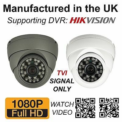 1080P 2.4MP HD TVI CCTV Security Camera Outdoor Night Vision Dome Home system IR