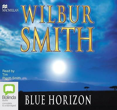 NEW The Blue Horizon By Wilbur Smith Audio CD Free Shipping