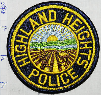 Ohio, Highland Heights Police Dept Patch
