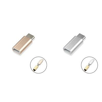 Micro USB Adapter to USB Type-C Adapter Converter Mini Changer For Phone Cables