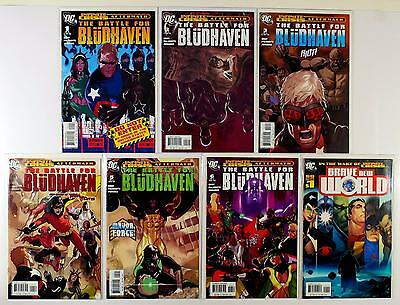The Battle For Bludhaven Dc Lot Of 7 Comics #1 2 3 4 5 6 Brave New World (Vf/nm)