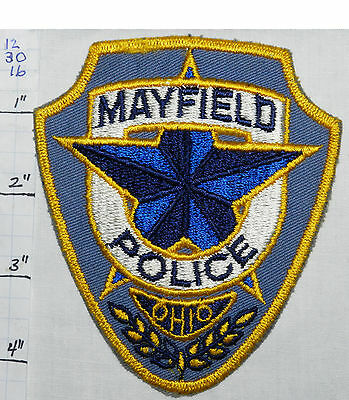 Ohio, Mayfield Police Dept Patch