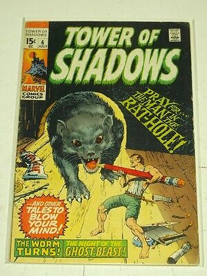 Tower Of Shadows #6 Vg+ (4.5) Marvel Comics July 1970*