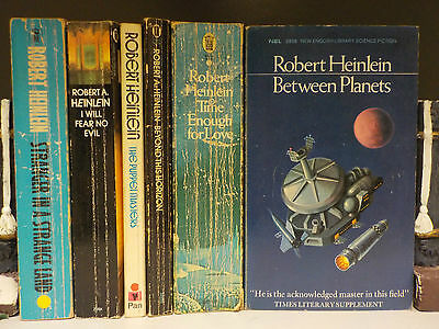 Robert Heinlein - 6 Books Collection! (ID:42974)