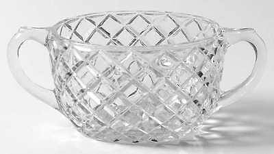 Anchor Hocking WATERFORD CLEAR Open Sugar Bowl 6734