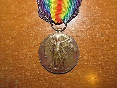 WW1 British Victory Medal named Essex Regiment