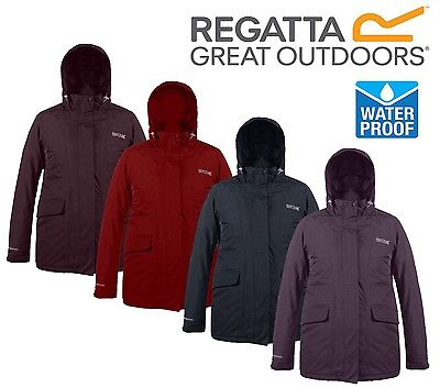 Regatta Ladies Womens Insulated Waterproof Darby Ii  Blanchet  Dustie Ii Jacket