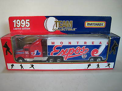 Matchbox Convoy - Kenworth T600 'mlb Montreal Expos 1995' Trailer - Mib/boxed