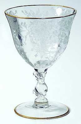 Cambridge WILDFLOWER CLEAR Oyster Fruit Cocktail Glass 48703