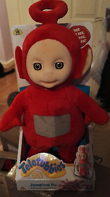 Teletubbies Jumping Po - Soft Toy With Sound Effects - New
