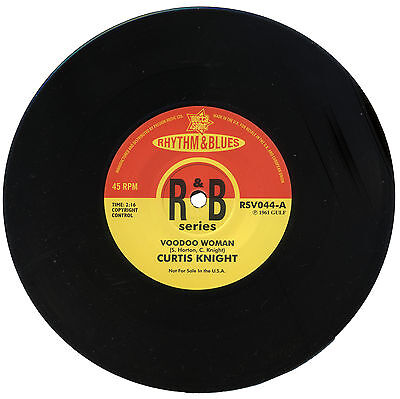 """Curtis Knight  """"voodoo Woman""""   Awesome R&b Dancer    Listen!"""