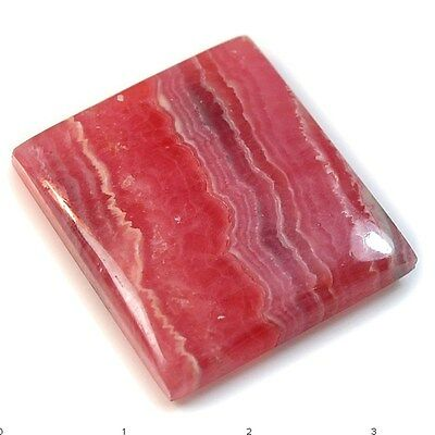 65.5Ct Natural Rhodochrosite (broken in two pc, 27mm X 26mm) Cabochon