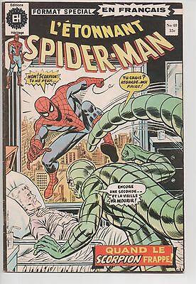 SPIDER-MAN #48 french comic français EDITIONS HERITAGE