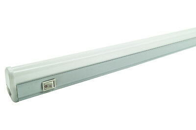 Plafoniera Led 10W 60Cm Luce Fredda T5 Ip20 Sottopensile Interruttore Dr