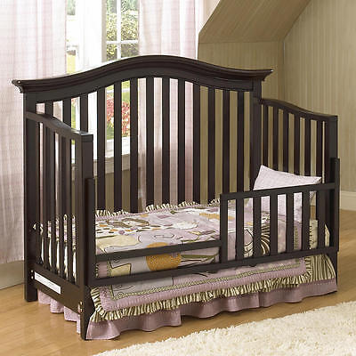 Baby Cache Dakota Toddler Guard Rail - Espresso