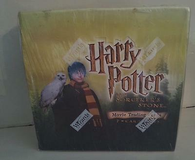 Harry Potter & The Sorcerer's Stone Sealed Box 36 Packs of 7 Trading Cards!