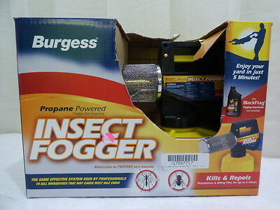 Burgess Propane Insect Fogger Mosquito Control Yard Patio Lawn Garden
