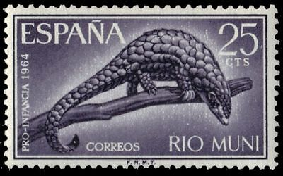 "RIO MUNI 32 (Mi45) - Child Welfare ""Giant Pangolin"" (pa82189)"