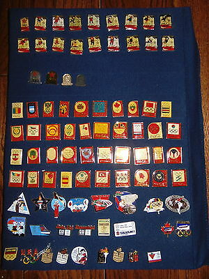 88 Calgary Olympic Winter Games Pins, 58 CocaCola, 29 Assorted, (lot of 87)