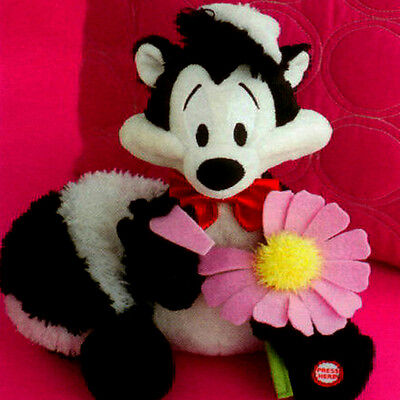 Hallmark Valentines Day Techno Plush 2010 I Pick You! - Pepe Le Pew - #VHG6031