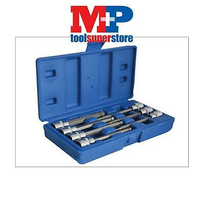 BlueSpot Tools 01510 Extra Long 3/8in Square Drive Hex Ball Bit Sockets 7 Piece