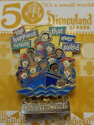 Disneyland 2016 It's a Small World 50th Happiest Cruise That Ever Sailed LE Pin