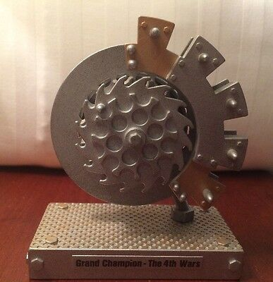 Rare Robot Wars Grand Champion The 4th Wars Toy Trophy BBC