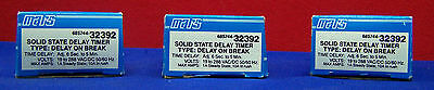 Qty Of 3 Mars 32392 / 685744-32392 Solid State Delay Timers Type:delay On Break