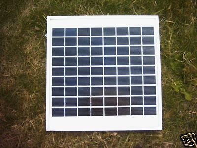 New 8 Watt Fast Charging Solar Panel For Pondskater Baitboat