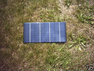 12V 4 Watt Resin Solar Panel Battery Charger For Viper Mk3 Baitboat