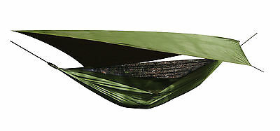 New Crusader Jungle Hammock  Tarp Set includes Mosquito Net Bushcraft Military