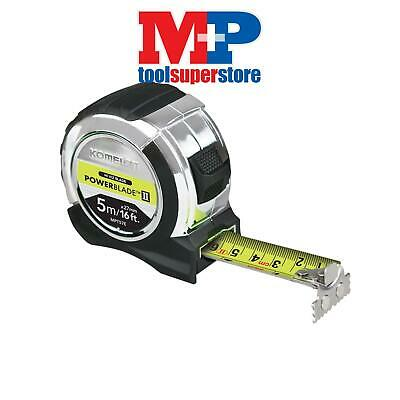 Komelon MPT516E PowerBlade™ II Pocket Tape 5m/16ft (Width 27mm)