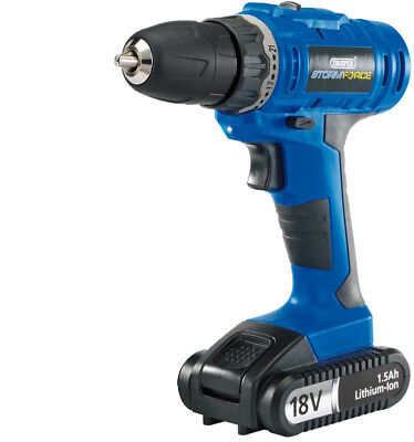 Draper 14601 Storm Force® Cordless Drill with Li-ion Battery (18V)