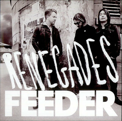 Feeder Renegades New 7 Inch Red Vinyl Record + Exclusive B Side Seven Single