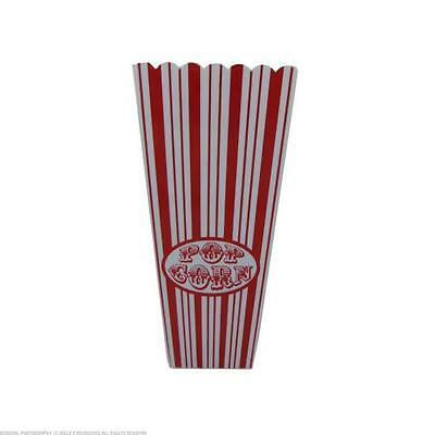 Red Striped Popcorn Bucket 40Pcs