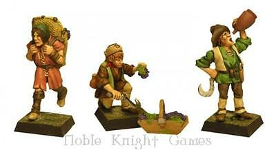 Fenryll Fantasy Mini Resin 28mm Vintagers, The Pack MINT