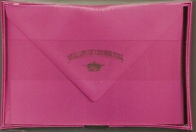 Vellum of Crown Mill NEW Box of 25 Cards & Envelopes - Bougainvillea Fuchsia