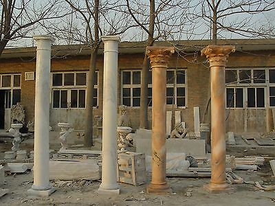Customize Your Desired Style/size Natural Marble Estate Columns @pls Ask Price
