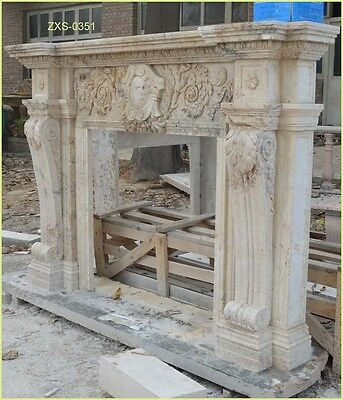 Customize Your Own Size 100% Marble fireplace Mantel 20 models@PLS ASK PRICE@