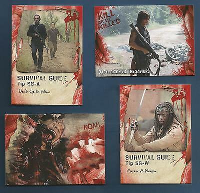 2016 Topps Survival Walking Dead Daryl Dixon Kill Or Be Killed Insert Card #10
