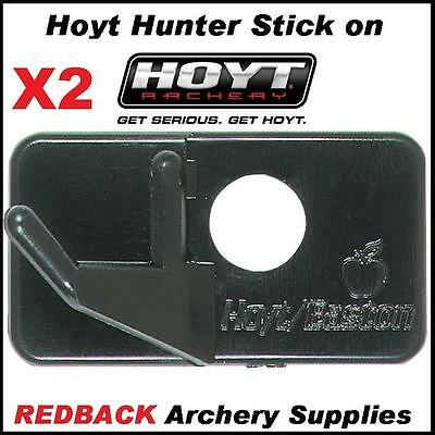 2 Hoyt Hunter arrow rests LH stick on for archery hunting compound recurve bows