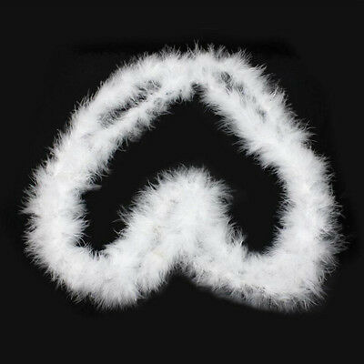 2M Fluffy Feather Boa Flower Craft For Party Wedding Dress Up Costume Decoration